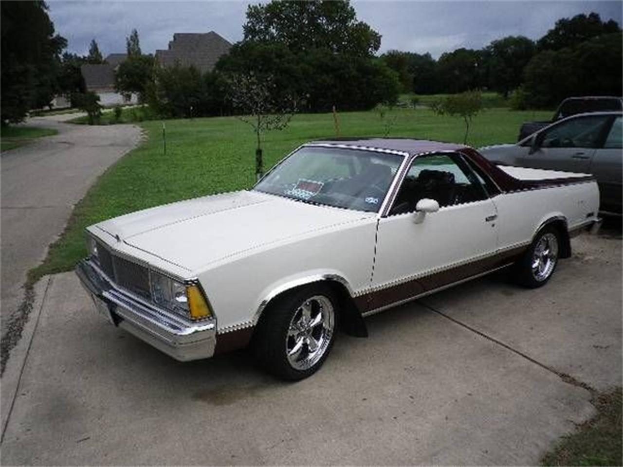 1980 El Camino Gas Mileage For Sale 1980 Chevrolet El Camino In Cadillac Michigan