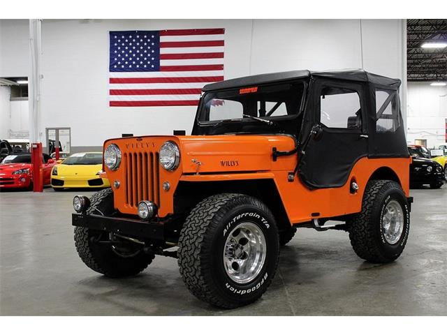 Classic Willys Jeep for Sale on ClassicCars