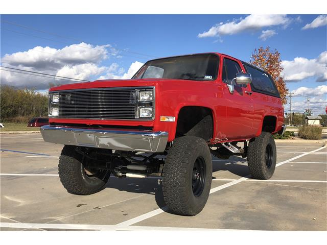 1970 Chevy K5 Blazer 4x4 Covette Powered Fuel Injected Index