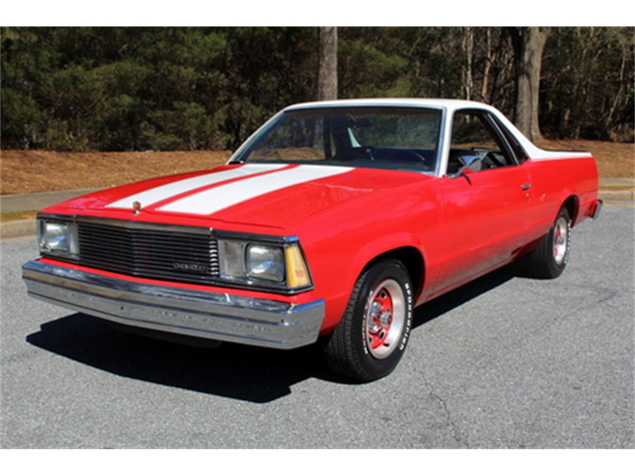 1980 El Camino Gas Mileage For Sale 1980 Chevrolet El Camino In Roswell Georgia