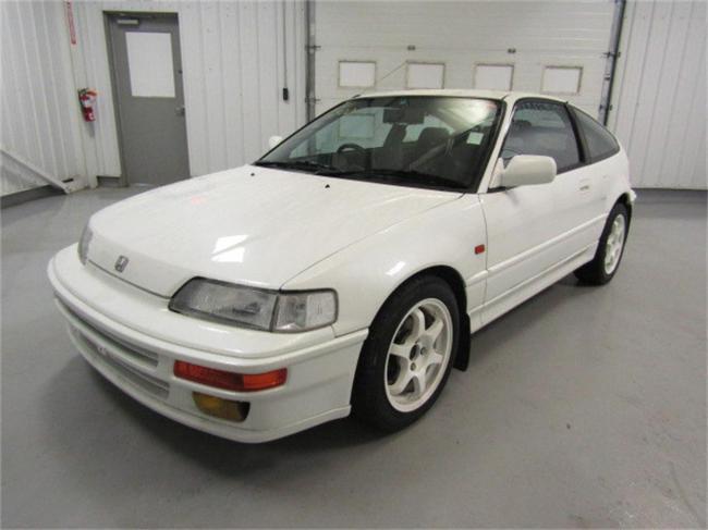 1990 Honda CRX - Honda (4)