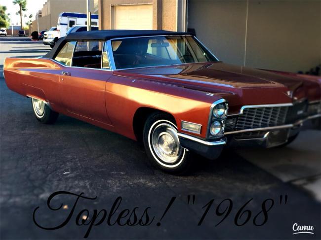 1968 Cadillac Coupe DeVille - Automatic (1)