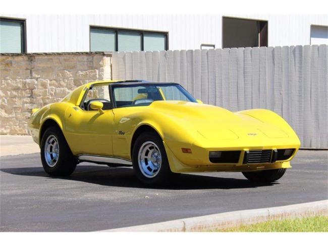 1977 Chevrolet Corvette - Chevrolet (71)
