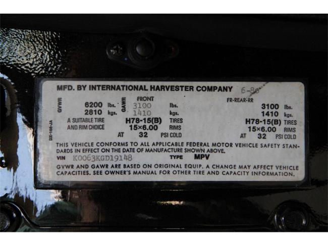 1980 International Harvester Scout II - Georgia (20)