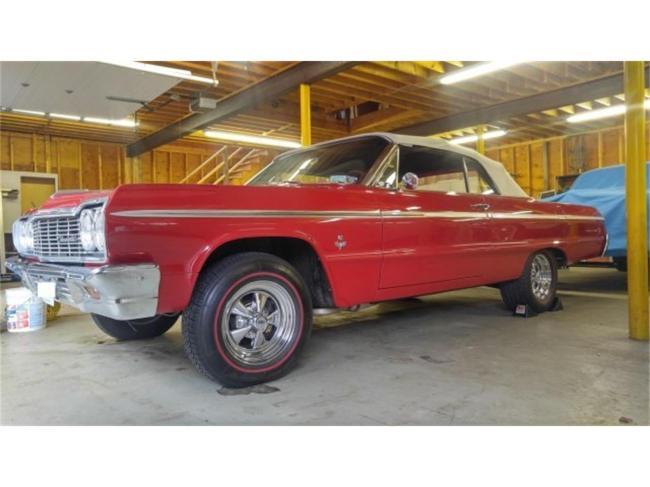 1964 Chevrolet Impala SS - Massachusetts (9)