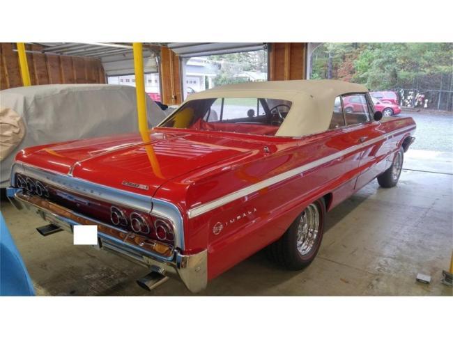 1964 Chevrolet Impala SS - Massachusetts (41)