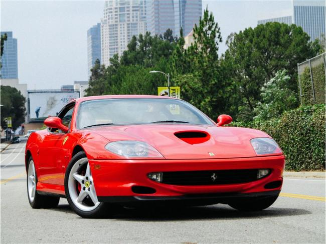 2000 Ferrari 550 Maranello - California (1)