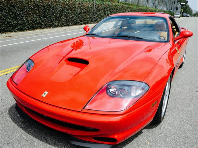 2000 Ferrari 550 Maranello - Manual (24)