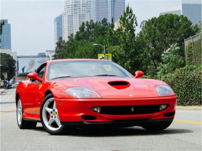 2000 Ferrari 550 Maranello - California (25)