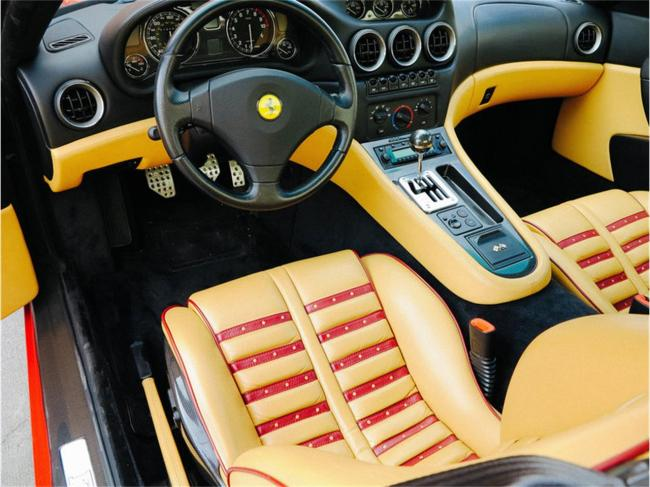2000 Ferrari 550 Maranello - Manual (41)