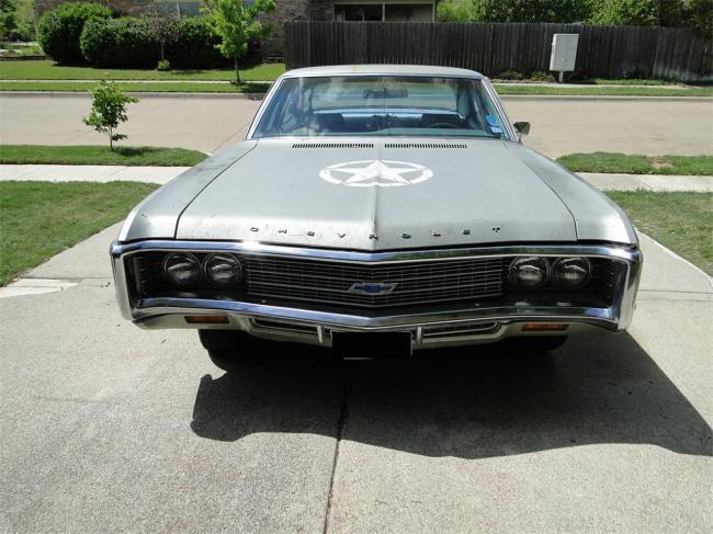 1969 Chevrolet Impala - Impala (1)