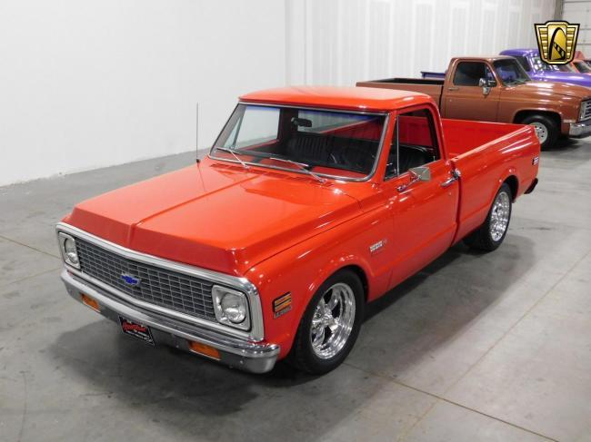 1971 Chevrolet C10 - Chevrolet (7)
