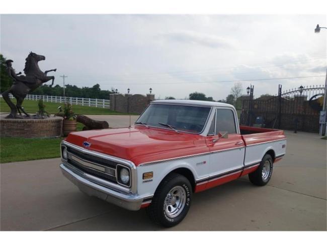 1970 Chevrolet C10 - Chevrolet (1)