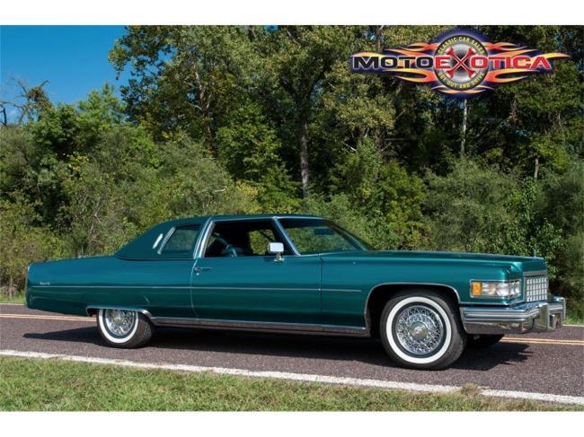 1976 Cadillac Coupe DeVille - Cadillac (5)