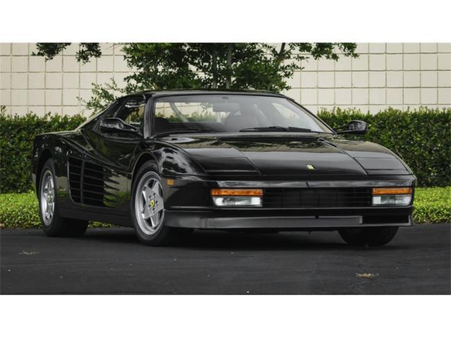1988 Ferrari Testarossa - Ferrari (1)