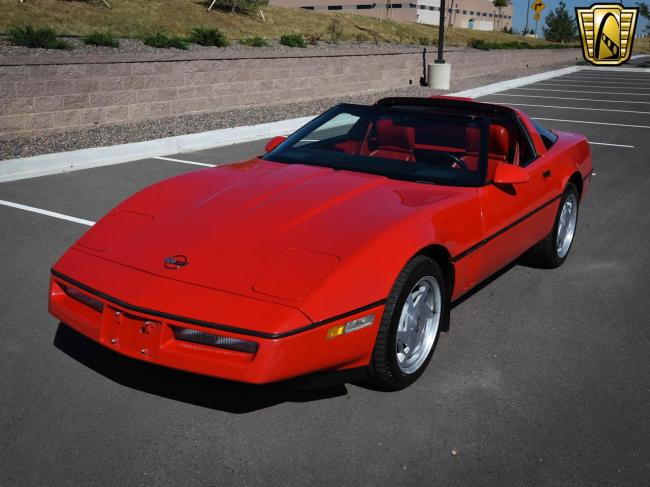 1989 Chevrolet Corvette - Corvette (2)