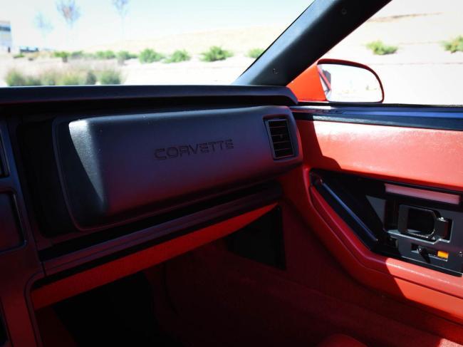1989 Chevrolet Corvette - Chevrolet (68)
