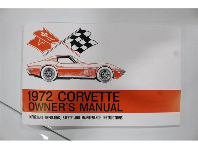 1972 Chevrolet Corvette - Chevrolet (26)