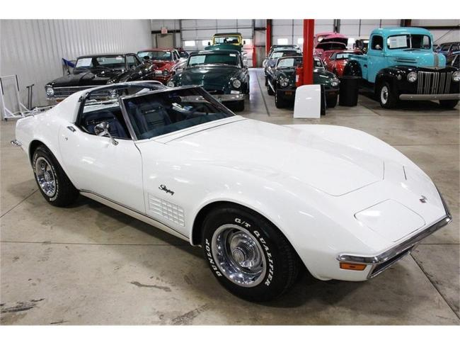 1972 Chevrolet Corvette - Michigan (87)