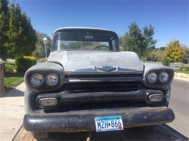 1958 Chevrolet Fleetside - Utah (3)