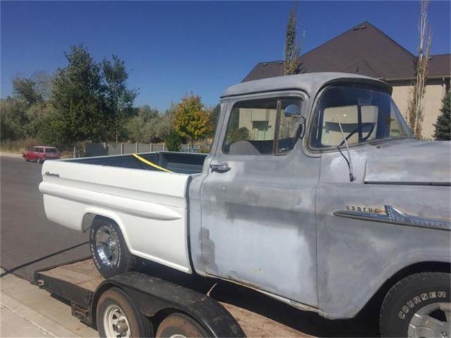 1958 Chevrolet Fleetside - Chevrolet (1)