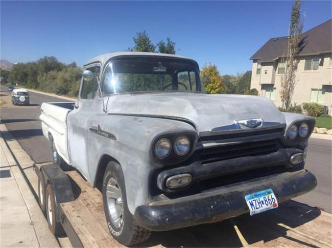1958 Chevrolet Fleetside in Lehi, Utah