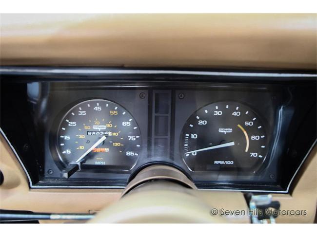 1981 Chevrolet Corvette - Chevrolet (74)