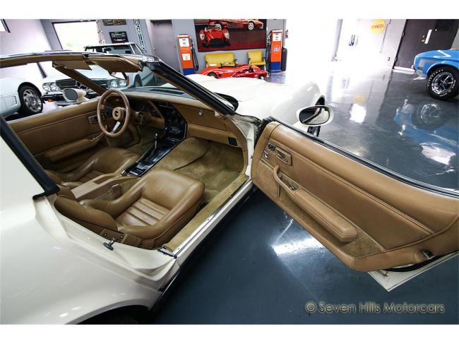 1981 Chevrolet Corvette - Chevrolet (88)