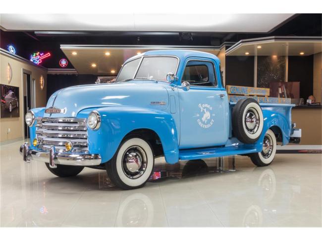 1950 Chevrolet 3100 5 Window Pickup in Plymouth, Michigan