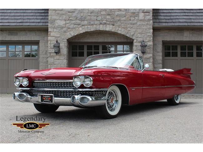1959 Cadillac Series 62 - Ontario (9)