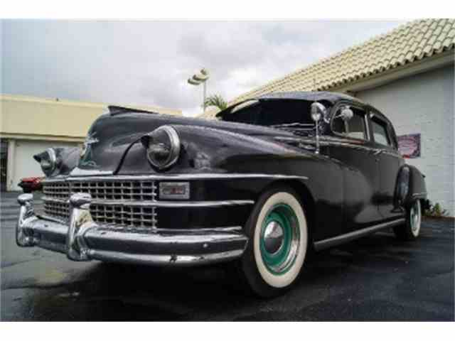 1946 To 1948 Chrysler Windsor For Sale On Classiccars Auto. 1946 To 1948 Chrysler Windsor For Sale On Classiccars. Chrysler. 1948 Chrysler Windsor Wiring Diagram At Scoala.co