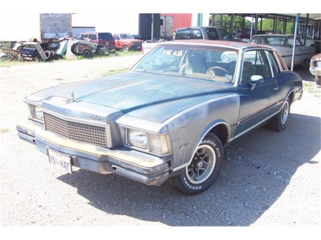 1978 Chevrolet Monte Carlo in Denton, Texas