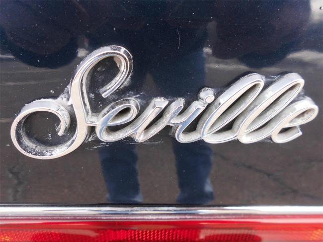 1987 Cadillac Seville Elegante - Connecticut (23)