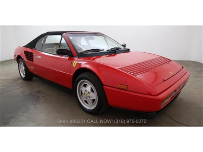 1987 Ferrari Mondial - Ferrari (25)