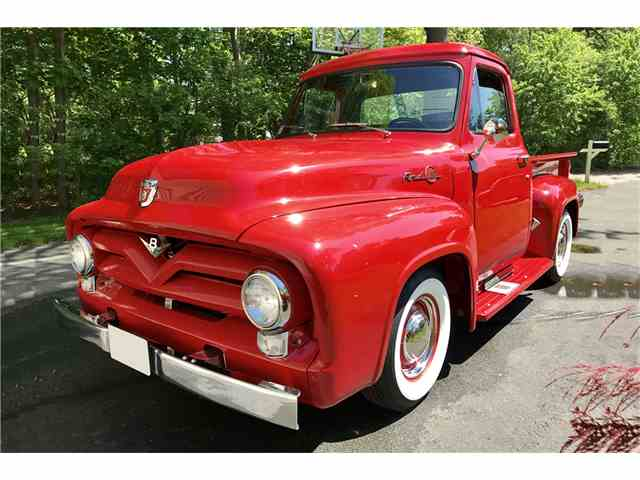 1955 ford f100 pancaked