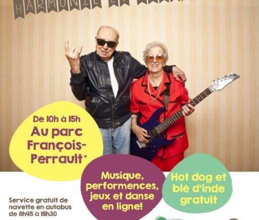 affiche Fête des aînés 2015