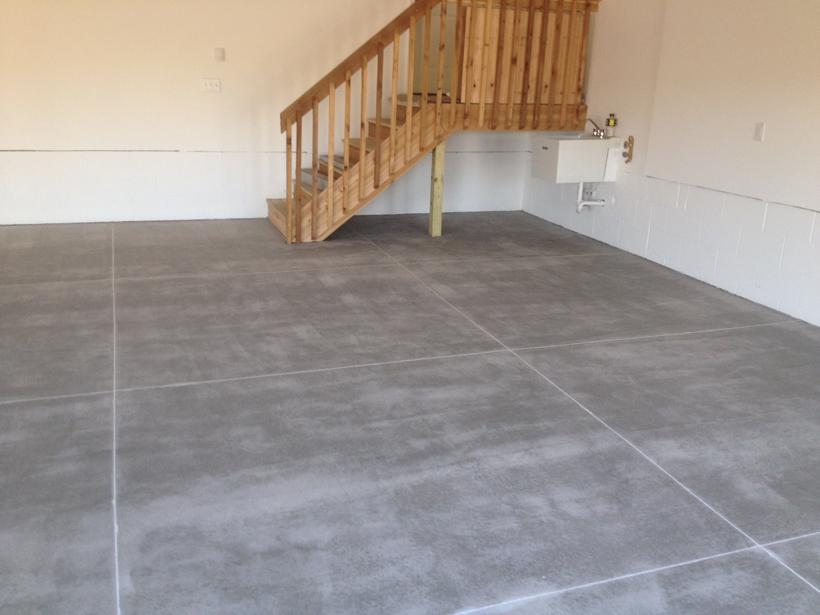 Garage Floor Concrete Repair In Minnesota Concrete Coating Systems Mn