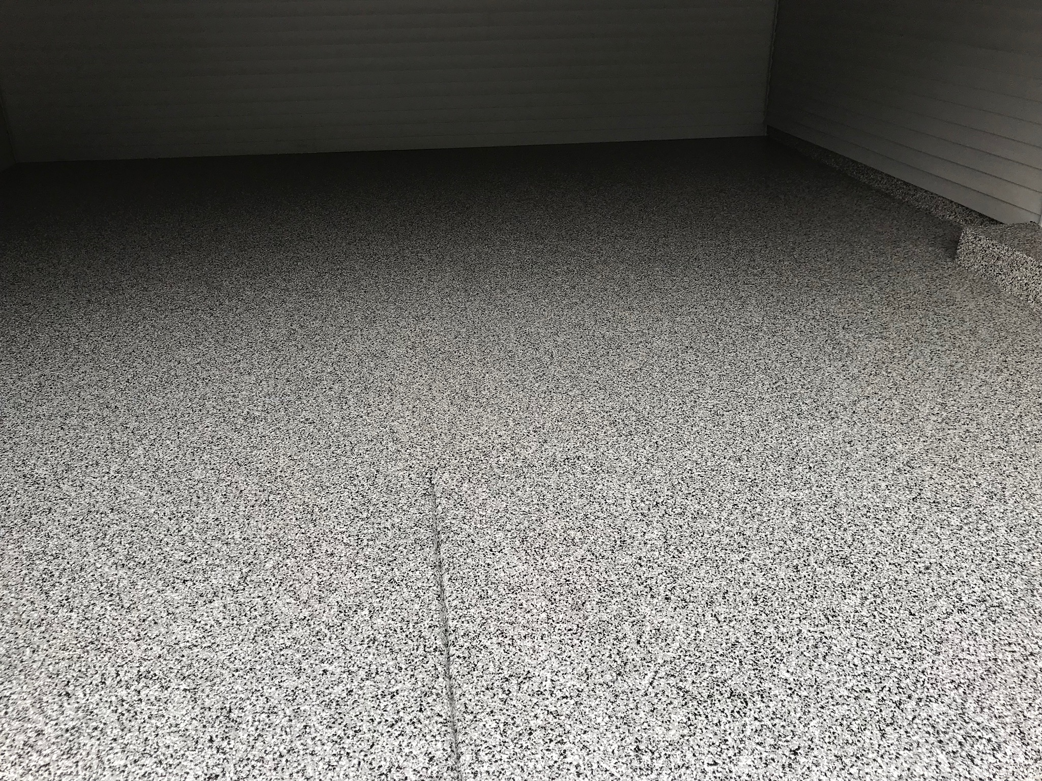 Damaged Garage Floor Repaired In Apple Valley Ccs Mn