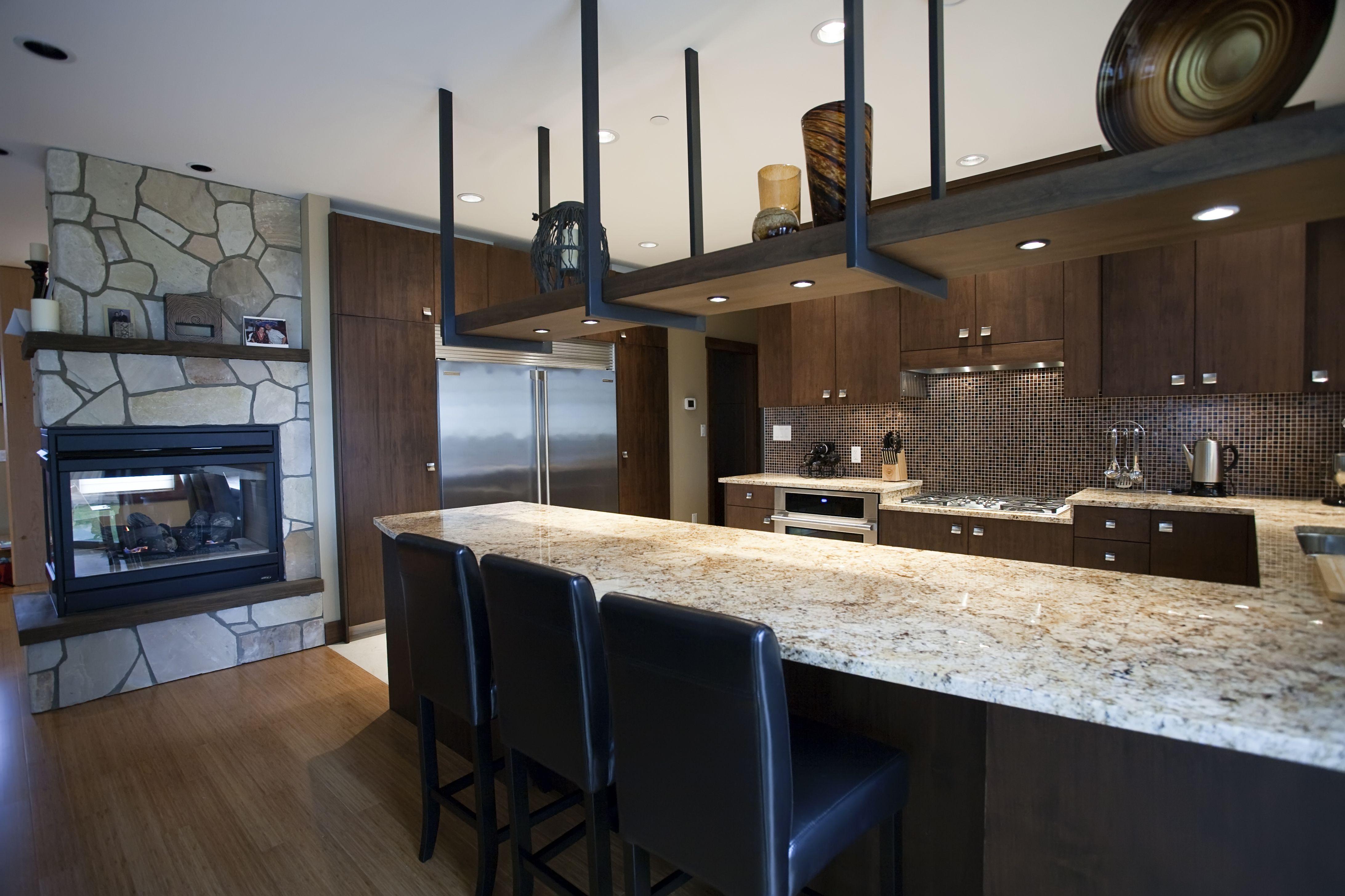 ccsrtip tuesday countertops countertops for kitchens Granite in CCSR Kitchen Below Butcher