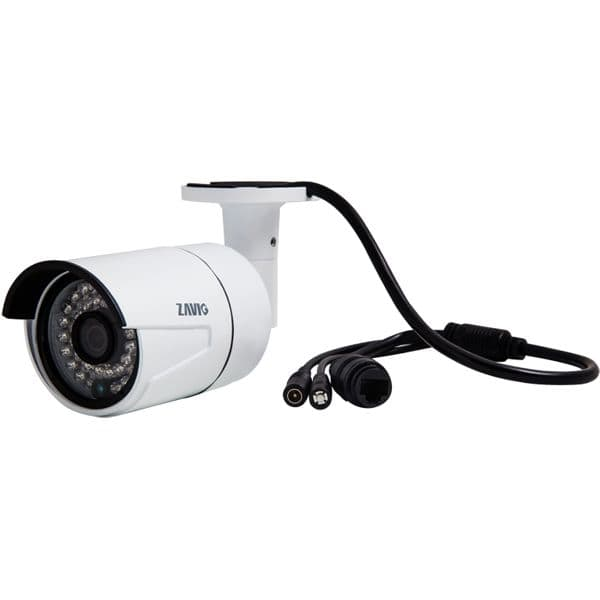 Camera Surveillance Exterieur Poe Infrared Ip Camera, Mini Outdoor Bullet, 3 Megapixel