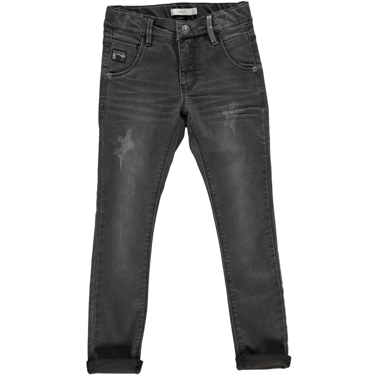 Tom Tailoe Jean Garçon Gris Name It- Ccv Mode