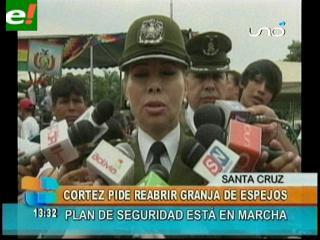 """Comandante Cortez pide reabrir la """"Granja de Espejos"""""""