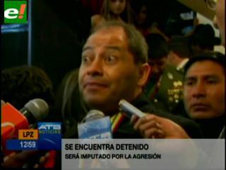 Clásico paceño: Detienen a español por agredir al Ministro Romero