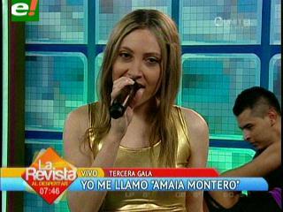 Yo me llamo: Amaia Montero