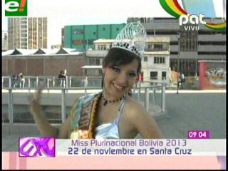 Elección de Miss Plurinacional Bolivia 2013, ya tiene fecha