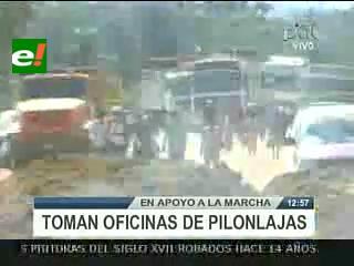 Rurrenabaque: Consejo indígena Chimán Mosetén toma las oficinas del proyecto Pilón Laja