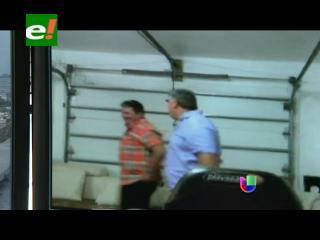 Video de la extorsión de Ormachea a Roca