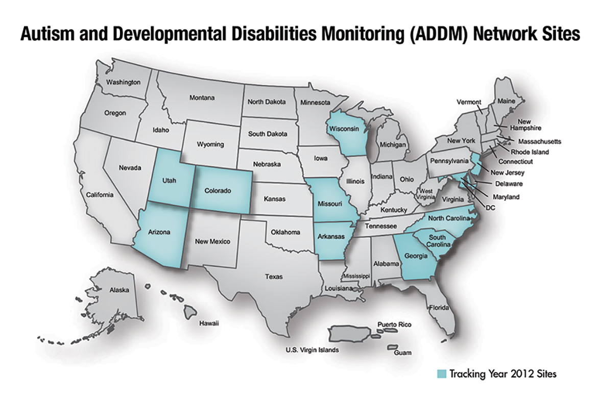 Prevalence For Autism Addm Autism Spectrum Disorder Asd Ncbddd Cdc