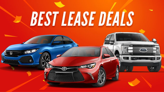 Best Lease Deals September 2018 - CarsDirect - compare leasing prices