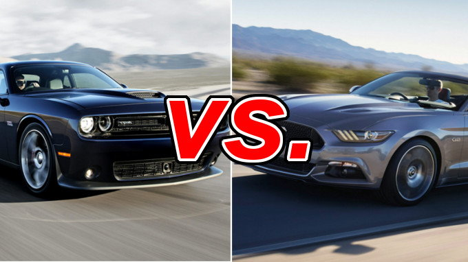 Dodge Challenger vs Ford Mustang - CarsDirect